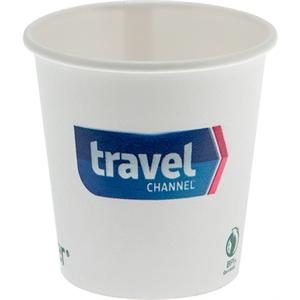 4 oz Eco-Friendly Paper Cup - White - Digital