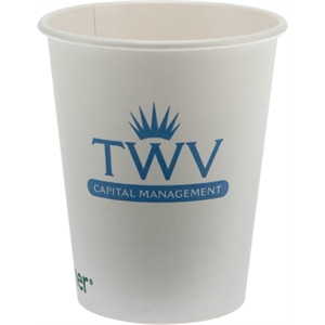 12 oz  Eco-Friendly Paper Cup - White - Tradition