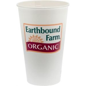 16 oz Eco-Friendly Paper Cup - White - Digital