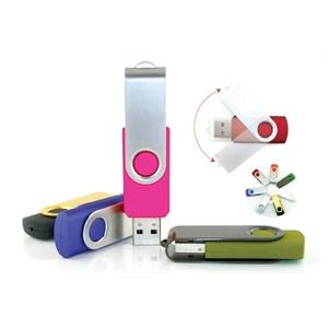 USB Flash Drive Rotating Swivel Spin USB Drive