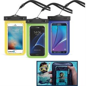 SNAP & LOCK WATERPROOF BAG for SMARTPHONES, TABLETS, & MORE!