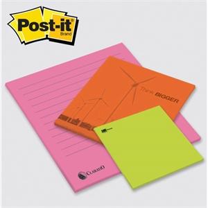 "Post-it® Custom Printed BIG Pad - 11 3/4\"" x 11 3/4\"""