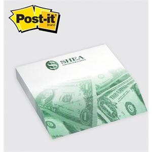 "Post-it® Custom Printed Angle Notepad - 4\"" x 3 3/4\"""