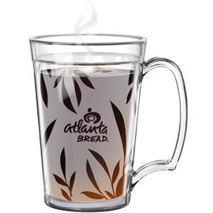 Full Color on 15oz. Clear ThermCraft Mug