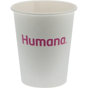 8 oz  Eco-Friendly Paper Cup - White - Tradition