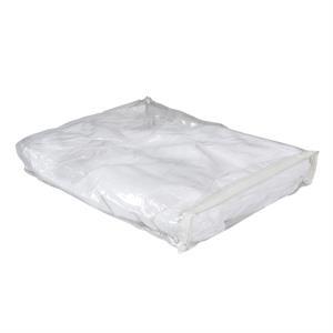 Clear Vinyl Zip Carry Bag