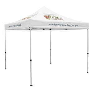 Premium 10 x 10 Event Tent Kit w/Vented Canopy (5 Locations)