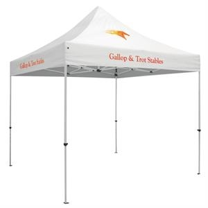 24 Hour Quick Ship Standard 10' Tent(Full-Color 3 Locations)