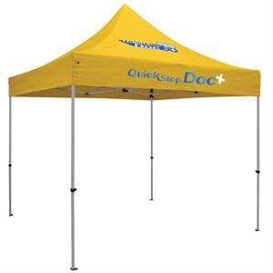24 Hour Quick Ship Premium 10' Tent (Full-Color 2 Locations)