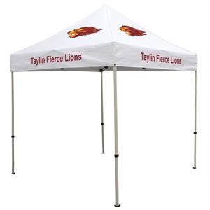 Deluxe 8 x 8 Event Tent Kit (Full-Color 4 Locations)