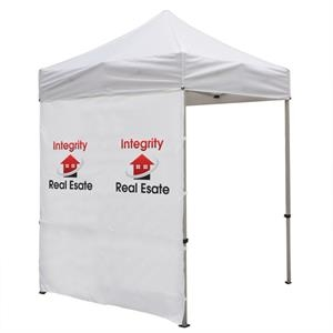 6 Foot Wide Tent Middle Zipper Wall with Zipper Ends