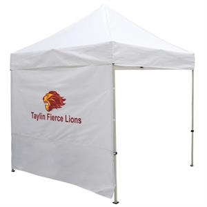8 Foot Wide Tent Full Wall with Zipper Ends