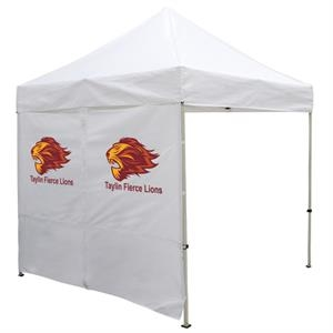 8 Foot Wide Tent Middle Zipper Wall with Zipper Ends