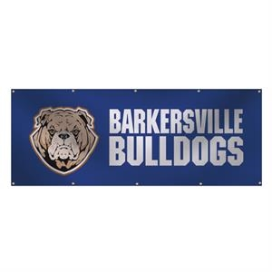 3' x 8' 13 oz Smooth Vinyl Single-Sided Interior Banner