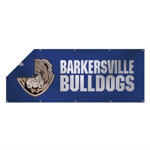3' x 8' 13 oz Smooth Vinyl Double-Sided Banner