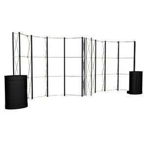 Show 'N Rise Pop-Up Fabric Display Hardware Only Kit