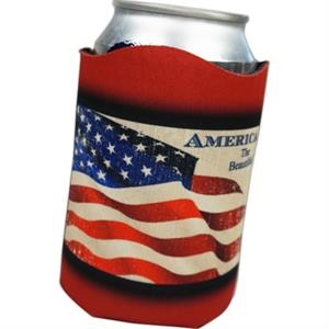12oz Wave Top Can Coolie