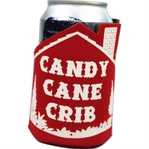 12oz House Shaped Can Coolie