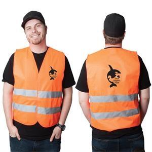 High-Viz Medium Safety Vest