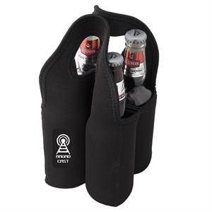 Malt Giver Neoprene Four Beer Bottle Carry Bag