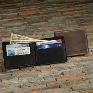 VULCAN Leather Bi-fold Wallet