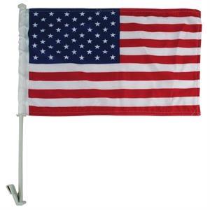 """11"""" x 18"""" Premium US Car Flag - Imported"""
