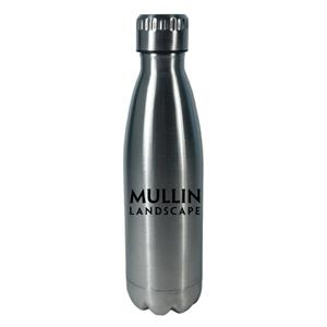 17 oz. Double Walled Stainless Steel Water Bottle