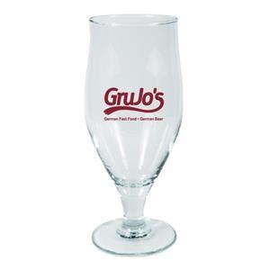 16.75 Cervoise Footed Beer Glass