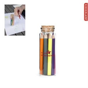 Kikkerland Colored Pencils in Glass Jar
