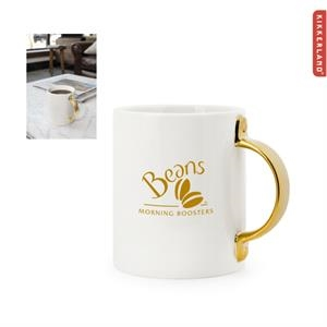 Kikkerland Gold Handle Mug