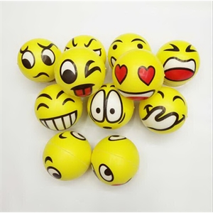 Smile Face Stress Ball Stress Reliever