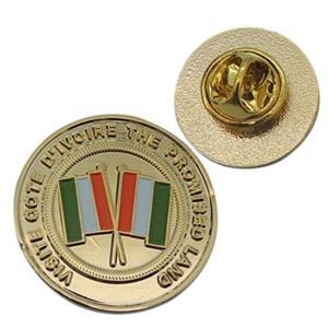 Lapel pins economy soft enamel