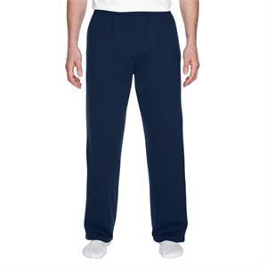 Adult 7.2 oz. Sofspun(R) Open-Bottom Pocket Sweatpants