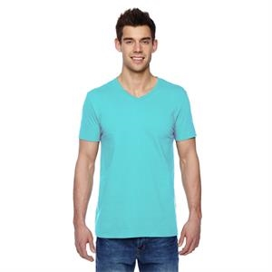 Adult 4.7 oz. Sofspun(R) Jersey V-Neck T-Shirt