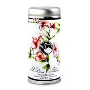 Hibiscus Flower Tea in Tall Tin