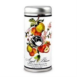 Cinnamon Apple Blossom Tea in Tall Tin