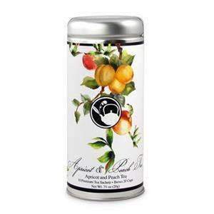 Apricot & Peach Tree Tea in Tall Tin
