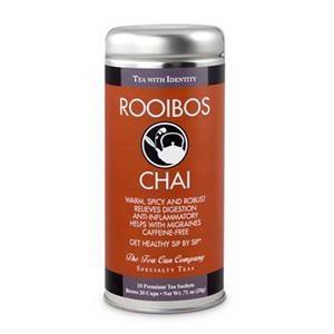 Rooibos Chai Tea in Tall Tin