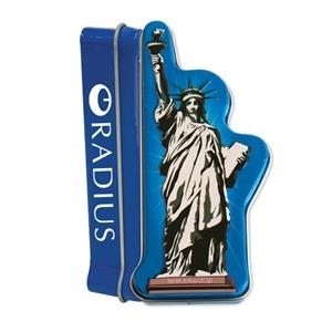 Statue of Liberty Tin with Mints