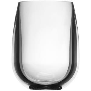 Blank 12 oz Stemless Wine Synthetic Glass