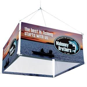 8' 4-Sided Hanging Banner Kit