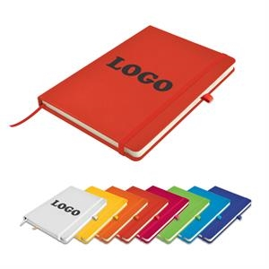 B5 PU Leather Notebook with Elastic Strap