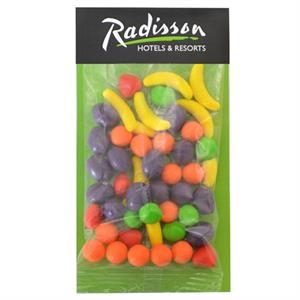 Large Billboard Full Color Header Candy Bag-  with Runts