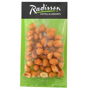 Large Billboard Full Color Header Bag-Honey Roasted Peanuts