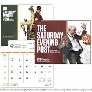Window The Saturday Evening Post Appointment Calendar
