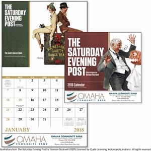 Stapled The Saturday Evening Post Appointment Calendar