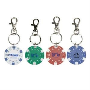 11.5 G Poker Chip Keyring