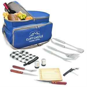 12 PC INSULATED BBQ / PICNIC BAG
