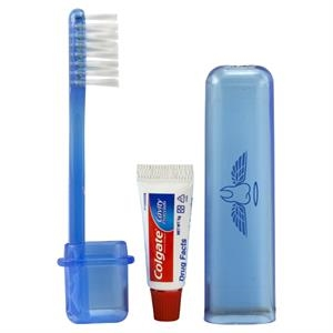 Travel Toothbrush & Colgate (R) Toothpaste