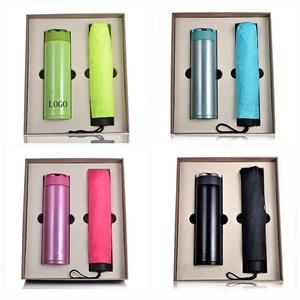 water bottle and umbrella Gift Set